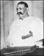 Ustad Bade Ghulam Ali Khan portrait