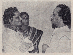 Pt Jagdish Prasad with Ravi Shankar