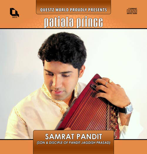 cover of the CD Patiala Prince by Samrat Pandit - manufactured and marketed by Questz World