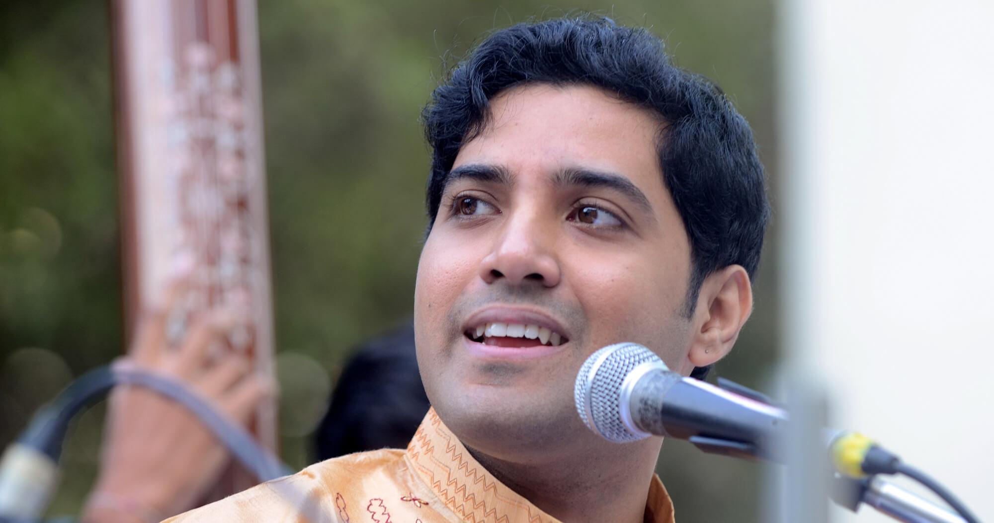Samrat Pandit portrait