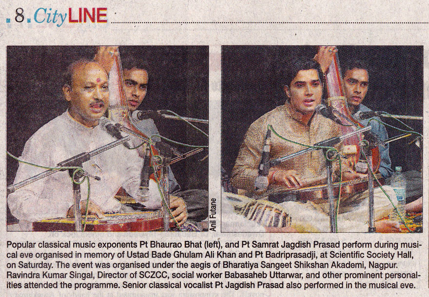 DNA India - Tribute to Ustad Bade Ghulam Ali Khan and Pandit Badri Prasad